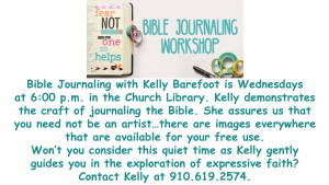 Bible Journaling with Kelly Barefoot/LB